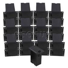 Black ABS  9V Guitar Battery Holder Active Guitar Bass Pickup Pack of 25