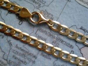 Panzerarmband Gold 333 Länge 21 cm x 3 mm, Herrenarmband Gold 333 Armband 21 cm