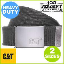 Pro Genuine CAT Caterpillar Heavy Duty Work Belt Metal Buckle For Trousers Pants