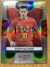 EDEN HAZARD 2018 Prizm World Cup CARD #13 SILVER PRIZM