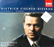 1995 Schubert Franz chansons Fischer-Dieskau Moore Ange 6 CD