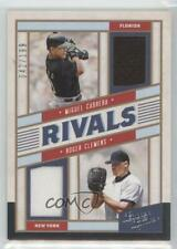 2019 Panini Leather & Lumber Rivals Materials /199 Miguel Cabrera Roger Clemens