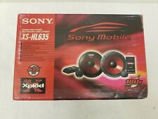 "Sony XS HL635 New Old Stock Auto Speakers 6.5"" 2 way speaker 180 W Xplod Vintage"