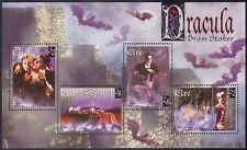 Ireland 1997 Dracula/Bats/Wolf/Animals/Books/Literature/Cinema 4v m/s (b7074)