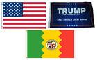 3x5 Trump #1 & USA American & City of Los Angeles Wholesale Set Flag 3'x5'