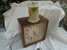 Vecchio orologio elettrico autocostruito  vintage