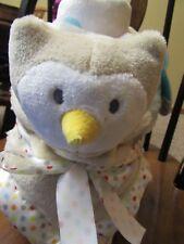 Baby Blanket & Owl Security Cuddle Buddy Little Journey Nwt Unisex Lovey
