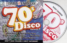 CD CARDSLEEVE CARTONNE COLLECTOR DISCO 70'S 7T BUGGLES/KOOL & THE GANG/ROSE ROYC