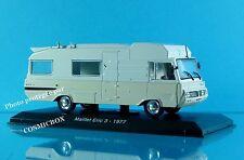 camping car MAILLET ERIC 3 sur chassis PEUGEOT J7 jean 1:43ème rando caravane