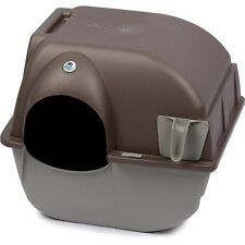 Self Cleaning Automatic Cat Litter Box Pet Roll'n Kitty Pewter Scoop Dog 1d
