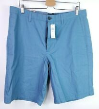New With Tag Banana Republic Men's City Short Straight Fit Shorts Blue Size 36.