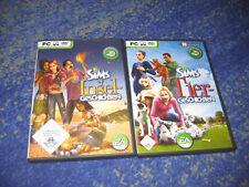 Die Sims - Tiergeschichten und Inselgeschichten für PC   super auch für Laptop