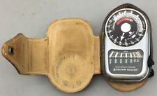 Weston Master III Universal Light Exposure Meter Model 737 Leather Case - D28