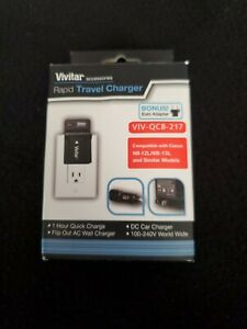 Vivitar NB-12L/13L Rapid Charger for Canon