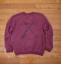 Raf Simons AW02-03 Virginia Creeper Distressed Crewneck Sweatshirt