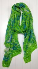 """Lilly Pulitzer Boho Scarf Cashmere Blend """"Roar of the Jungle"""" $128 LBFO NEW"""