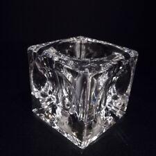 Würfel Glasschirm Glasersatz Lampenglas Kristall G4  Tischleuchte Tischlampe