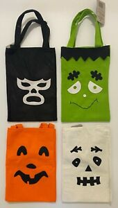 Halloween Felt Party Monster Ghost Pumpkin Sweets Candy Loot Collection Bag
