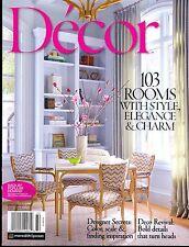 Decor Magazine Spring/Summer 2017 Style Elegance Charm Deco Revival Bold Details