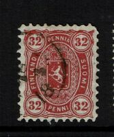 Finland SC# 23, Used, Pulled Corner Perf - Lot 082217