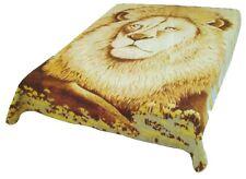 Lion New Korean Style cozy Queen size Blanket