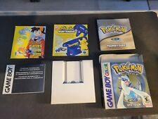 Pokemon Silver Nintendo Game Boy Color BOX ONLY With Inserts