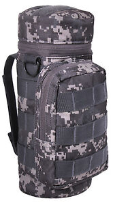 Water Bottle MOLLE Pouch Tactical Utility Subdued Urban Digital Camo Rothco 2682