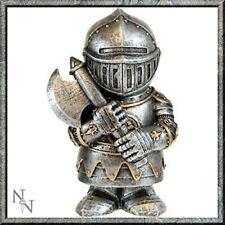 Comical Medieval Knight Small Ornament Statue Figurine