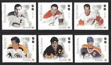 2017Canada SC# NHL Canadian Hockey Legends  M-NH from booklet