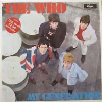 THE WHO - My Generation ~ VINYL LP
