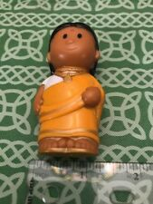 Traditional East Indian Hindi Woman Lady Children's Toy Figure FREE SHIPPING