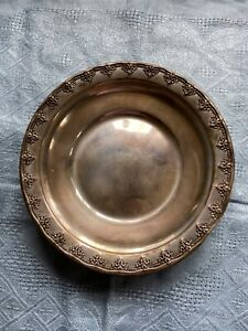 """Reed and Barton """"Medici"""" Style Bowl, Sterling"""