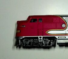 """Ho Locomotive Scale BACHMANN Santa Fe """"SOLD AS IS"""" Repairs Needed"""