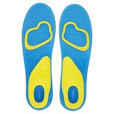 ACTIVE GEL MENS INSOLES WORK WALKING SPORTS EXTRA COMFORT SHOCK ABSORPTION 8 -13