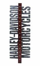 Harley-Davidson® Motorcycles 10 Bottle Metal Vertical Wall Wine Rack HDL-18565