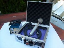 VINTAGE NEUMANN CMV563 MICROPHONE with M7 Capsule, Blue Preamp, and roadcase