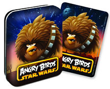Star Wars Angry Birds Playing Cards Collectible Tin Chewbacca