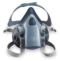 Half Facepiece Reusable Respirator, 7500 Series, Large 3M 7503