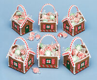 Mary Maxim Gingerbread Treat Baskets Plastic Canvas Kit