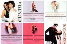 6 used BALLROOM DANCE CD LOT Merengue,Cumbia,Waltz,Rumba,Cha Cha,Mambo,Foxtrot,+