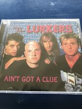 THE LURKERS - AIN'T GOT A CLUE CD NEW SEALED PUNK CD
