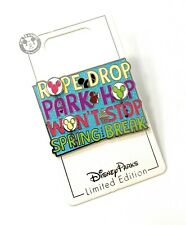Disney Parks Rope Drop Park Hop Won't Stop Mickey Balloons LE Trading Pin NEW
