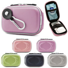 Small Compact Digital Camera Case Pouch Bag W/ Clip For Canon ELPH 360 HS/190 IS