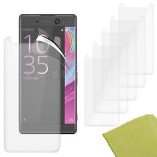 5 Pack PET Film Screen Protector Guard For Sony Xperia XA Ultra