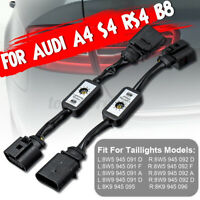 2pcs Dynamic Turn Signal Indicator LED Taillight Module For Audi A4 S4 RS4 B8 d