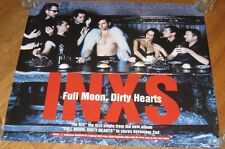 Nos Vintage 1993 Inxs Poster Full Moon, Dirty Hearts Atlantic Album Nos 24x27