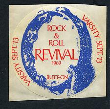 1969 Toronto Press Pass John Lennon The Doors Jim Morrison Chicago Alice Cooper