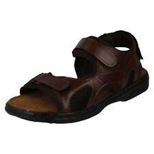 Sandalias y chanclas de hombre en color principal marrón talla 44