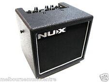 NUX 8 WATT GUITAR AMPLIFIER Battery Powered Buskers Amp *Heaps Of Effects* NEW!
