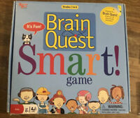 BRAIN QUEST SMART! GAME - GRADES 1-6 EDUCATIONAL KIDS CARD GAME UNIVERSITY GAMES